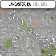 Lancaster - ville et environs 3d model