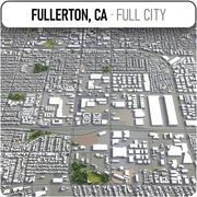 フラートン-都市とその周辺 3d model