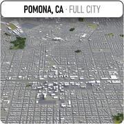 ポモナ-都市とその周辺 3d model