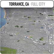 トーランス-都市とその周辺 3d model