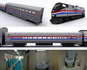 Amtrak(1) 3d model