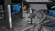Control Center 3D Room 3d model