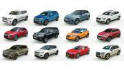 12 Düşük Poli SUV 3d model
