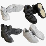 Coleção de sapatos 9 3d model