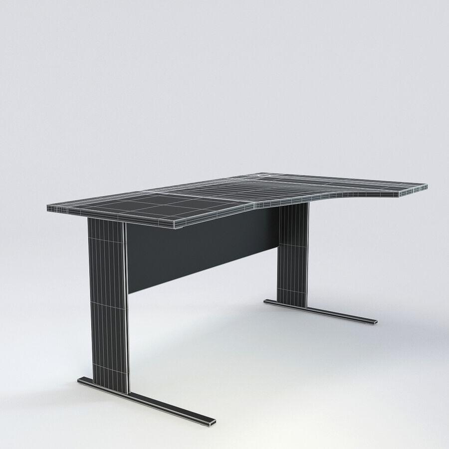Büro-Schreibtisch-Set royalty-free 3d model - Preview no. 29