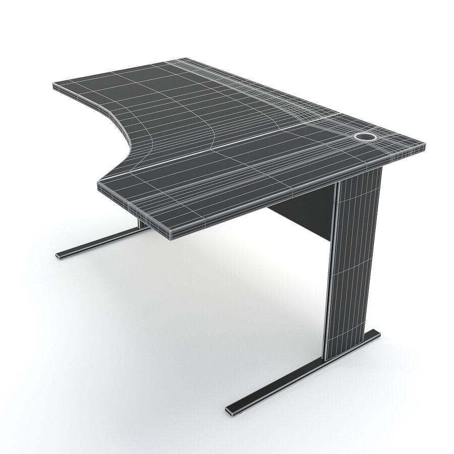 Büro-Schreibtisch-Set royalty-free 3d model - Preview no. 25