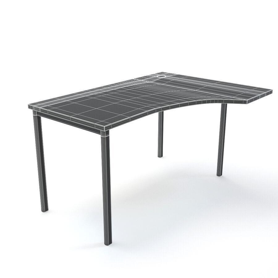 Büro-Schreibtisch-Set royalty-free 3d model - Preview no. 37