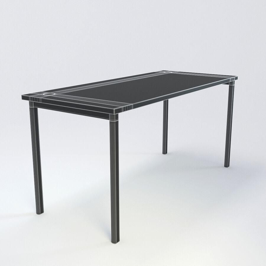 Büro-Schreibtisch-Set royalty-free 3d model - Preview no. 41