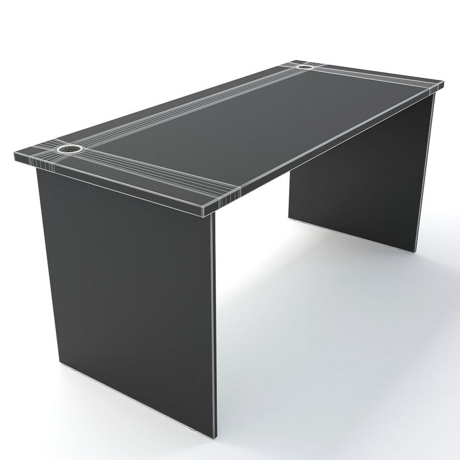 Büro-Schreibtisch-Set royalty-free 3d model - Preview no. 49