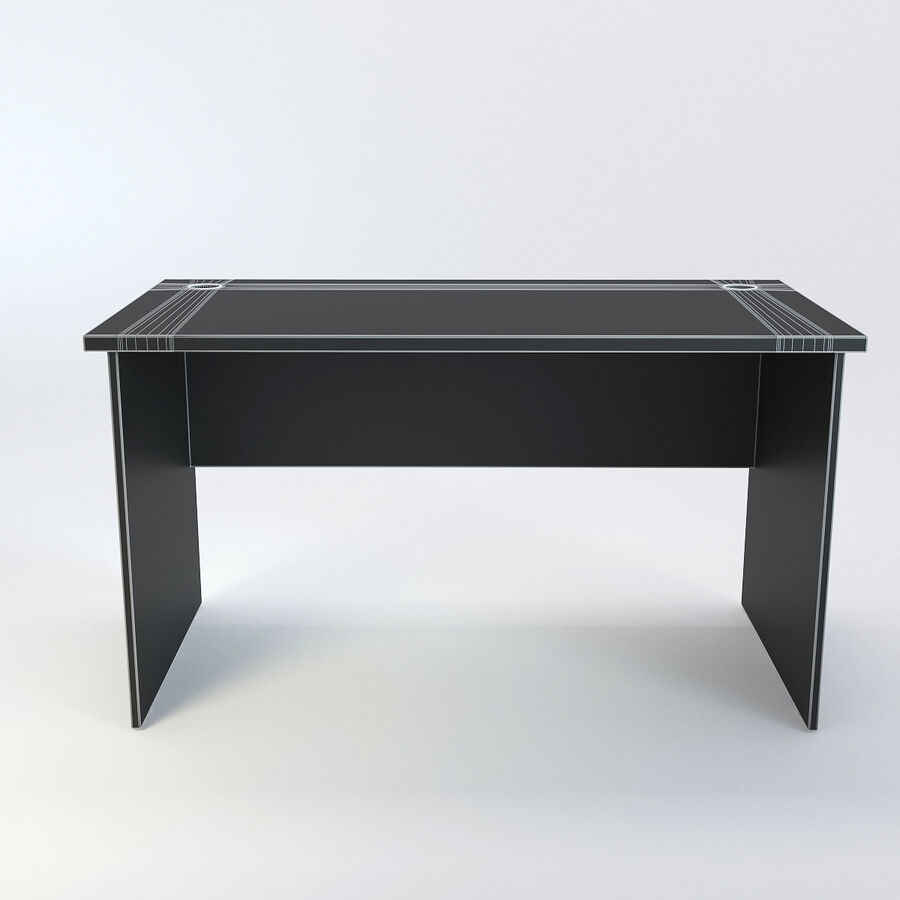 Büro-Schreibtisch-Set royalty-free 3d model - Preview no. 52
