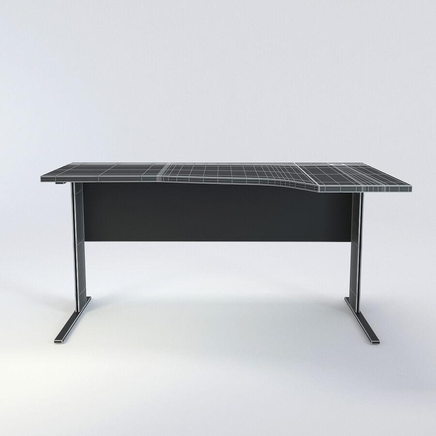 Büro-Schreibtisch-Set royalty-free 3d model - Preview no. 28