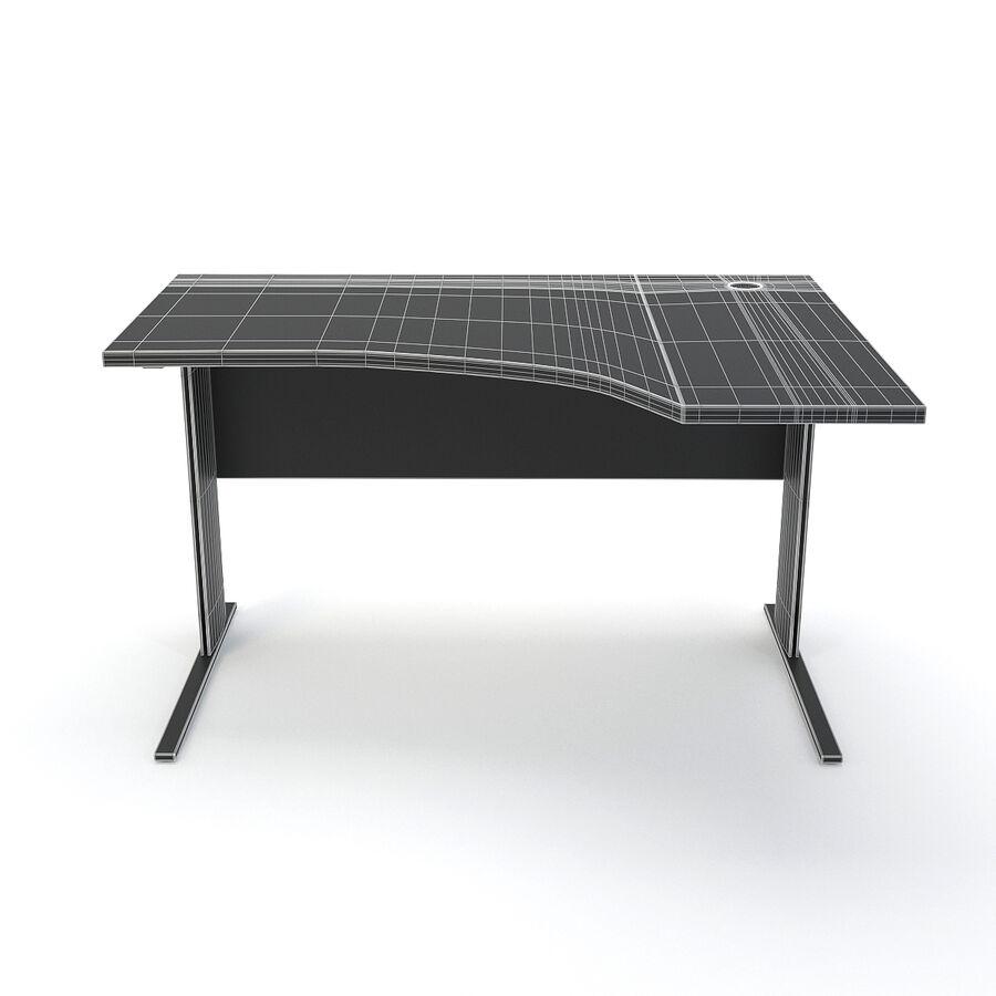 Büro-Schreibtisch-Set royalty-free 3d model - Preview no. 24