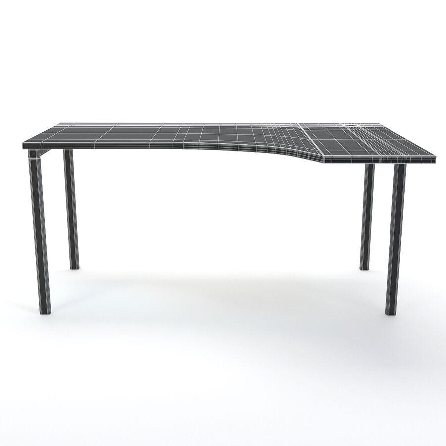 Büro-Schreibtisch-Set royalty-free 3d model - Preview no. 32