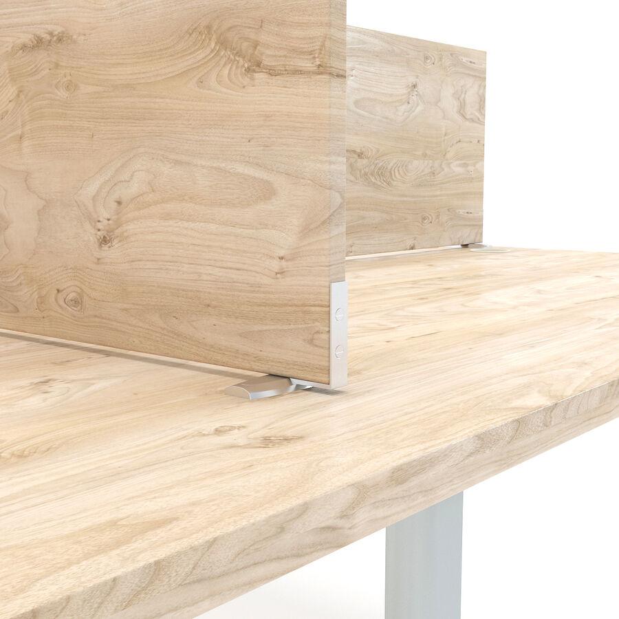 Büro-Schreibtisch-Set royalty-free 3d model - Preview no. 13