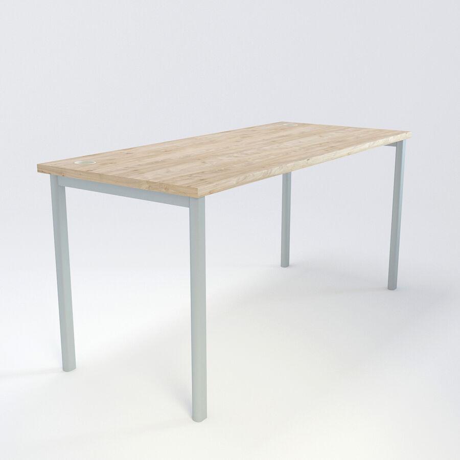 Büro-Schreibtisch-Set royalty-free 3d model - Preview no. 39