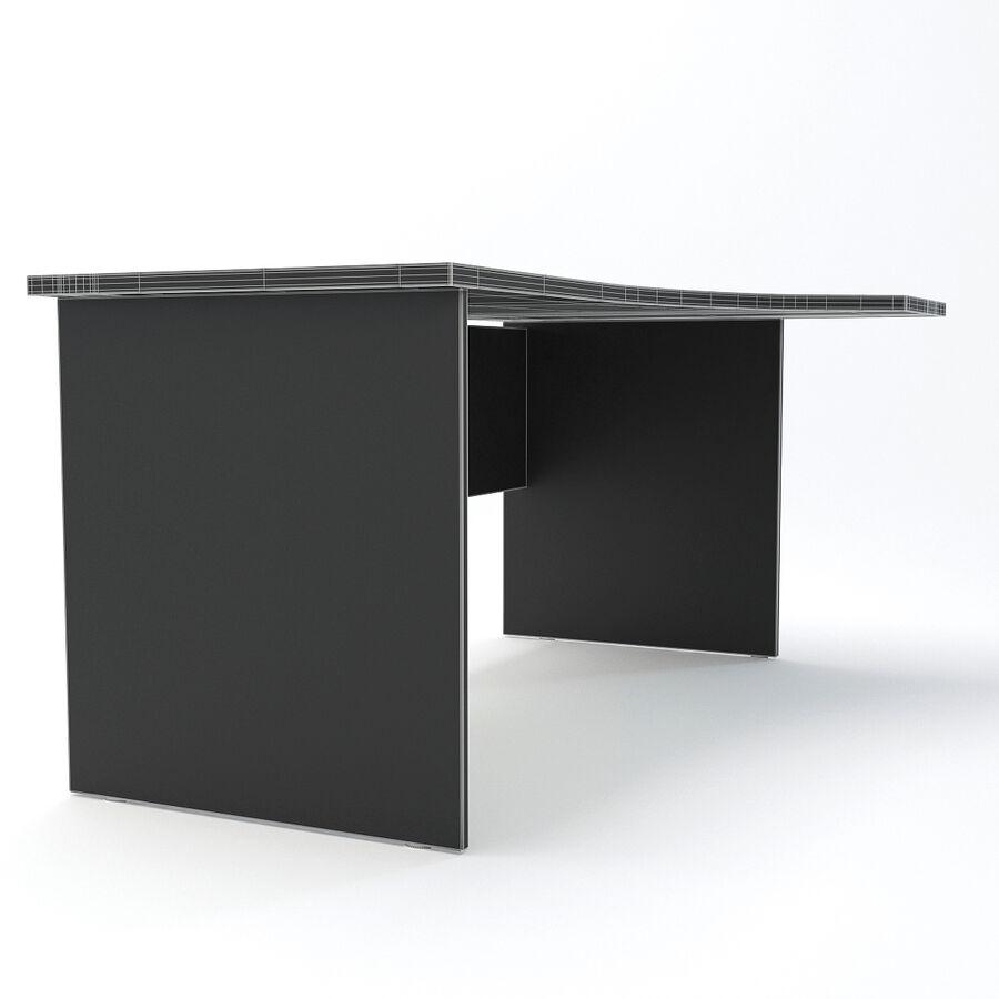 Büro-Schreibtisch-Set royalty-free 3d model - Preview no. 20