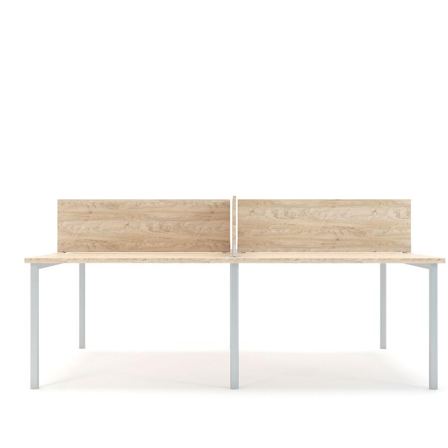 Büro-Schreibtisch-Set royalty-free 3d model - Preview no. 10
