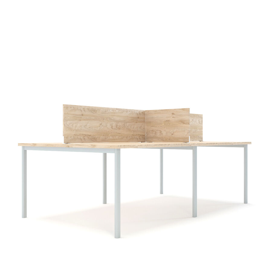Büro-Schreibtisch-Set royalty-free 3d model - Preview no. 11