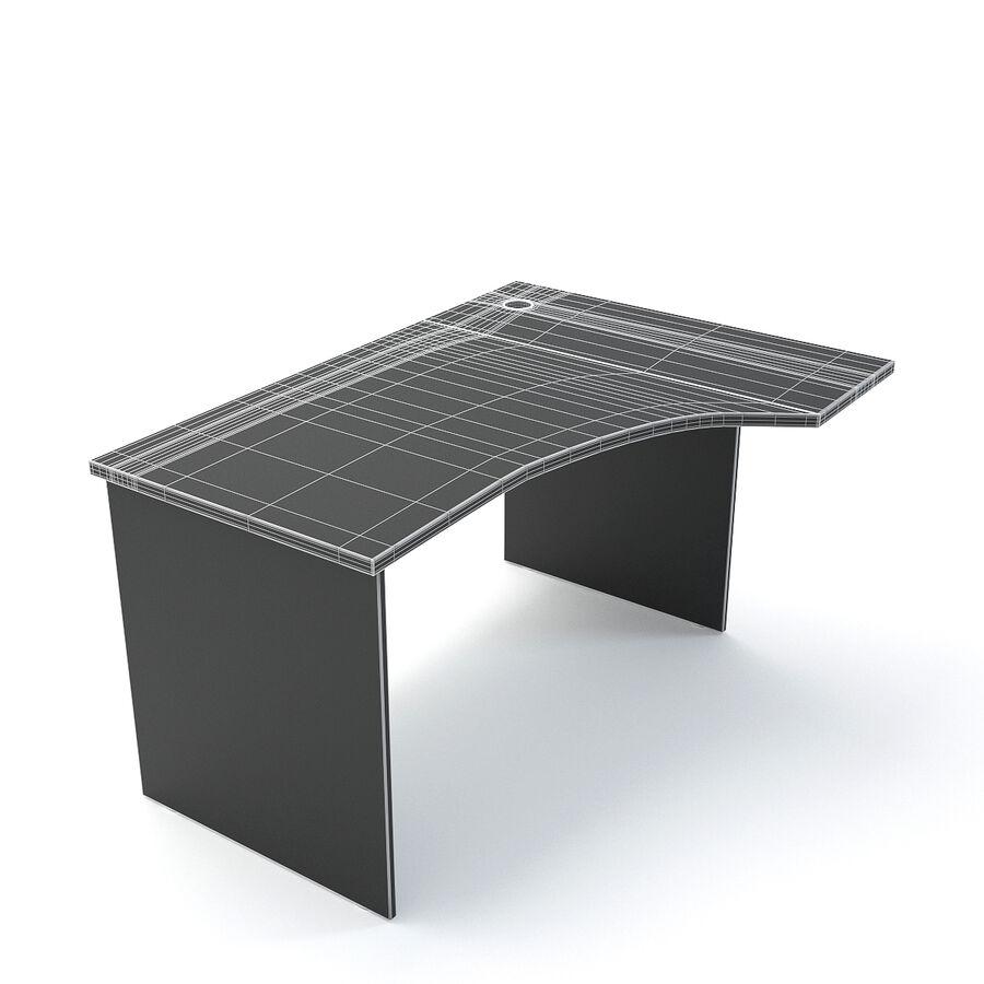 Büro-Schreibtisch-Set royalty-free 3d model - Preview no. 16