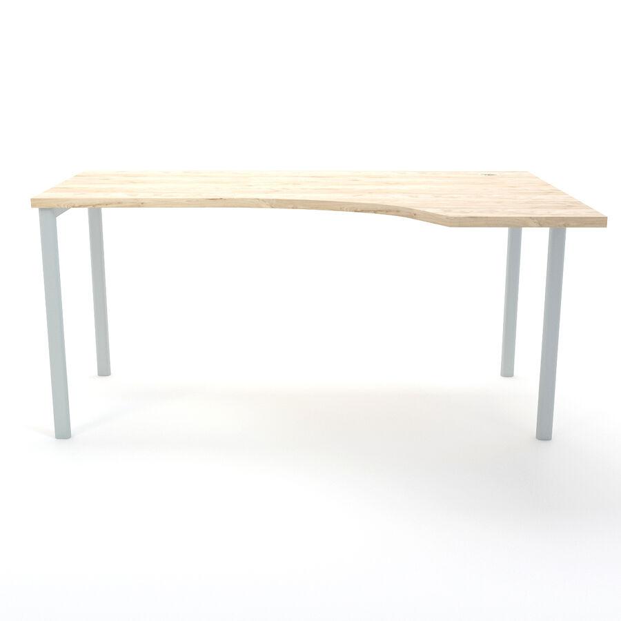 Büro-Schreibtisch-Set royalty-free 3d model - Preview no. 30