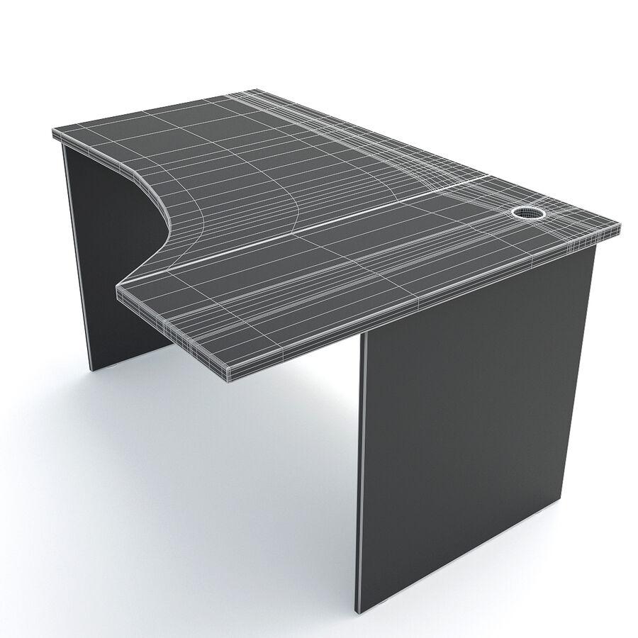 Büro-Schreibtisch-Set royalty-free 3d model - Preview no. 17