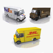 Post Trucks Collection 3d model