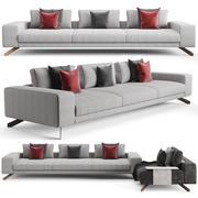 Henge Opus Sofa 3d model