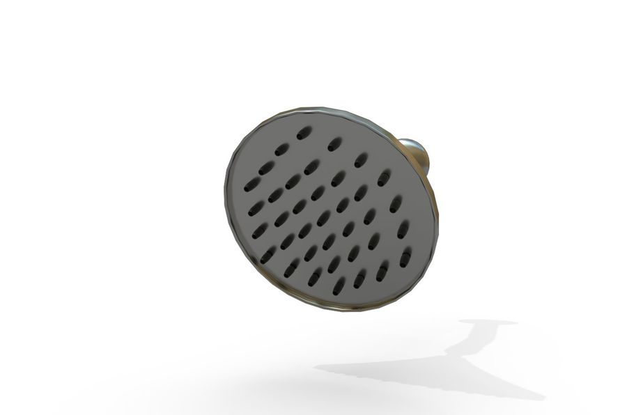 Shower Head royalty-free 3d model - Preview no. 2