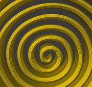 Collana a spirale 3d model