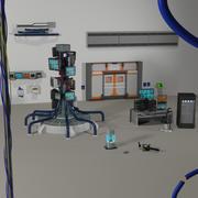 Accessoires Cyberpunk 3d model