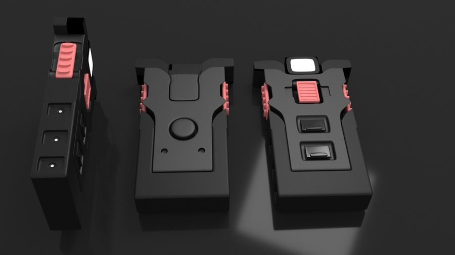 scanner royalty-free 3d model - Preview no. 1