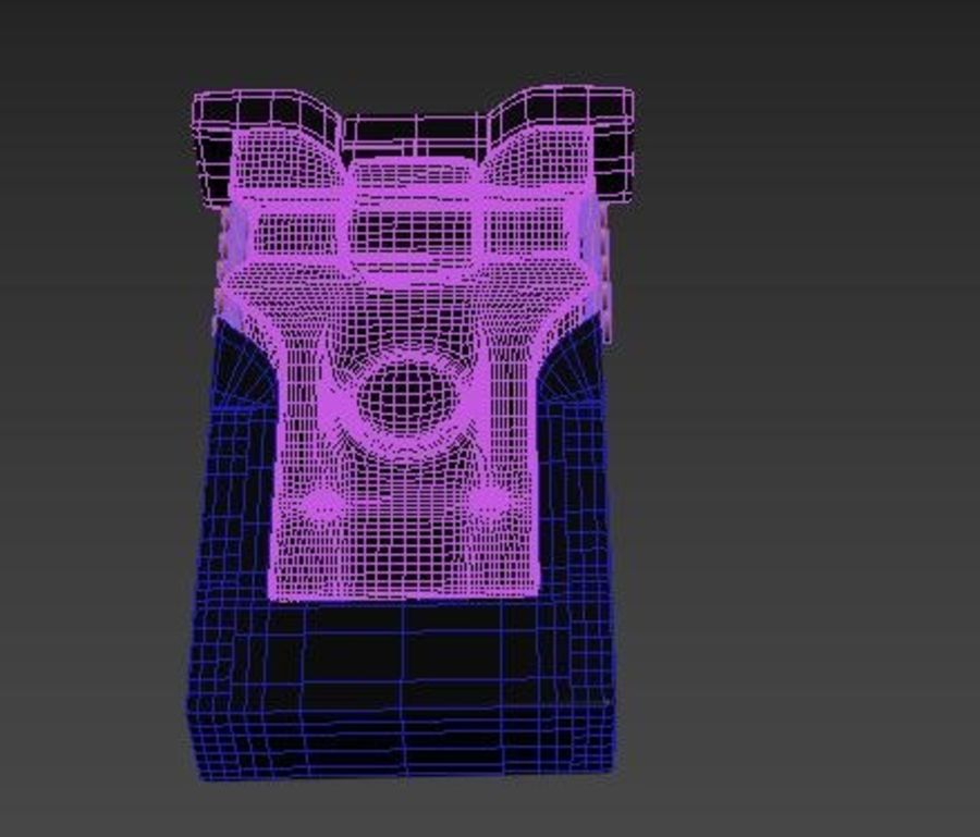 scanner royalty-free 3d model - Preview no. 3