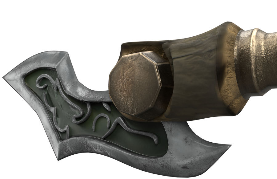 Dagger royalty-free 3d model - Preview no. 6