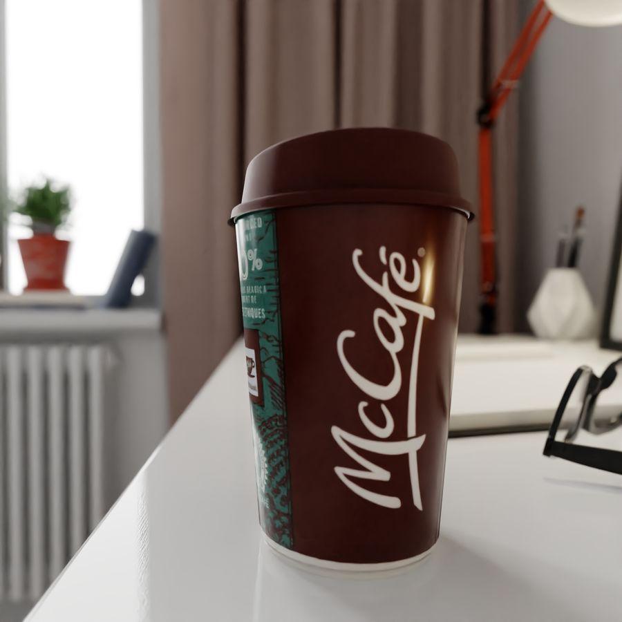 Coppa McCafe royalty-free 3d model - Preview no. 1