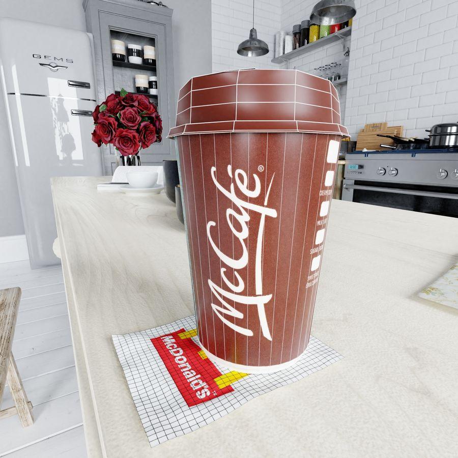 Coppa McCafe royalty-free 3d model - Preview no. 9