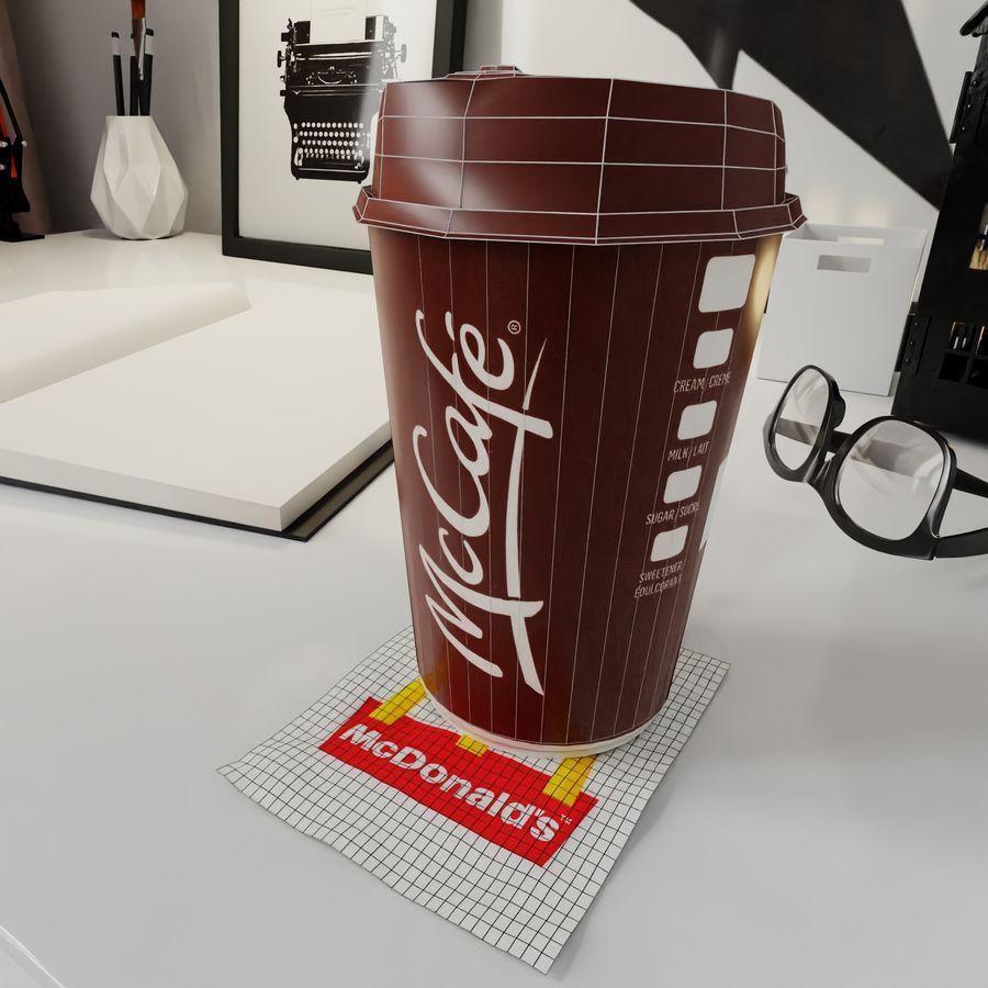 Coppa McCafe royalty-free 3d model - Preview no. 6
