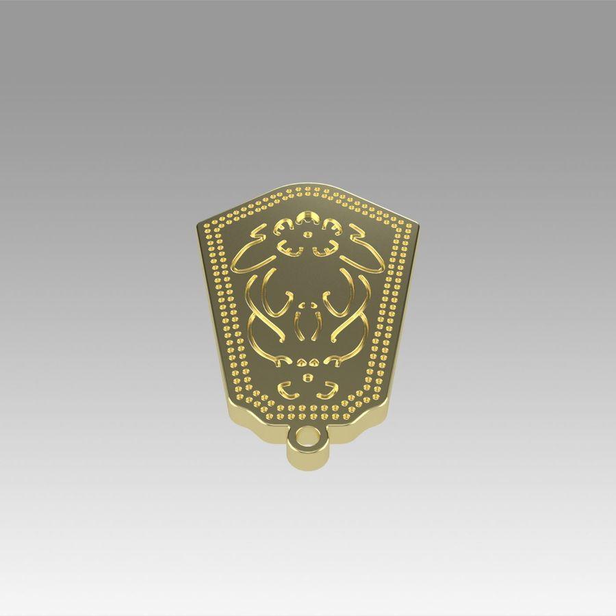サブリナペンダントラビットコスプレプロップ royalty-free 3d model - Preview no. 5