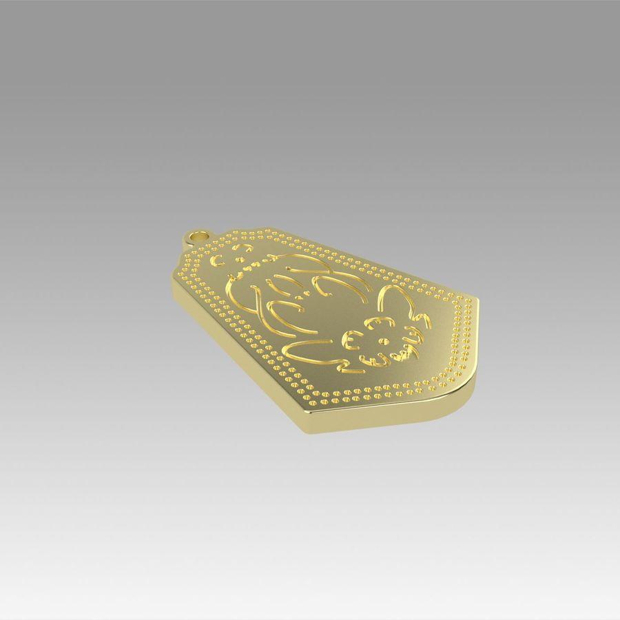 サブリナペンダントラビットコスプレプロップ royalty-free 3d model - Preview no. 8