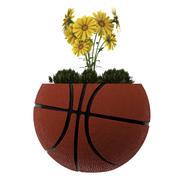 BasketBall Vase Plant 3d model