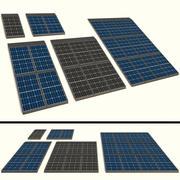 Panneau solaire 3d model