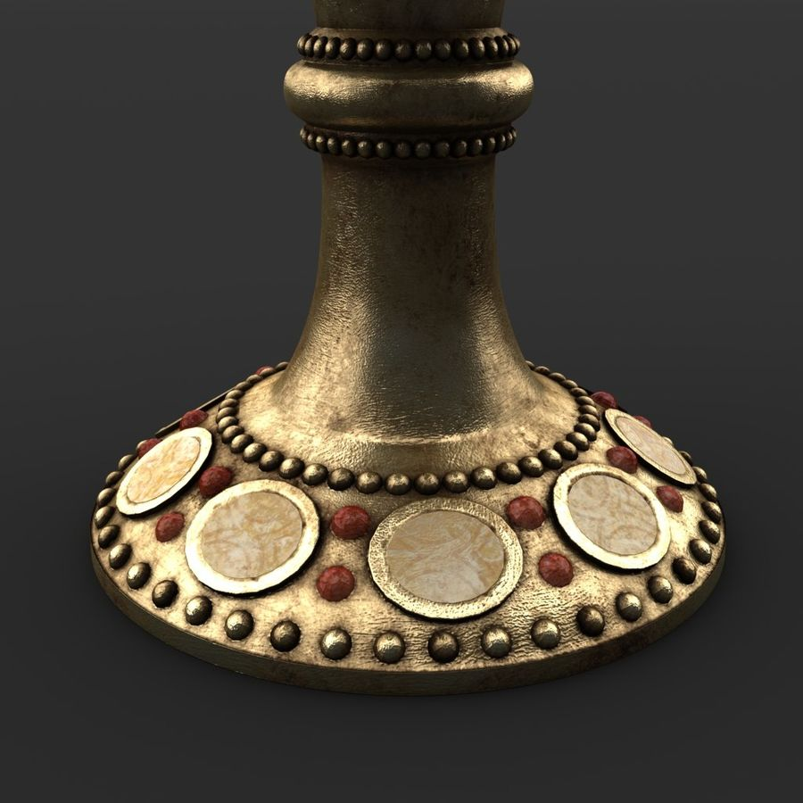 성배 royalty-free 3d model - Preview no. 5