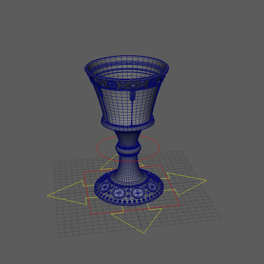성배 royalty-free 3d model - Preview no. 8