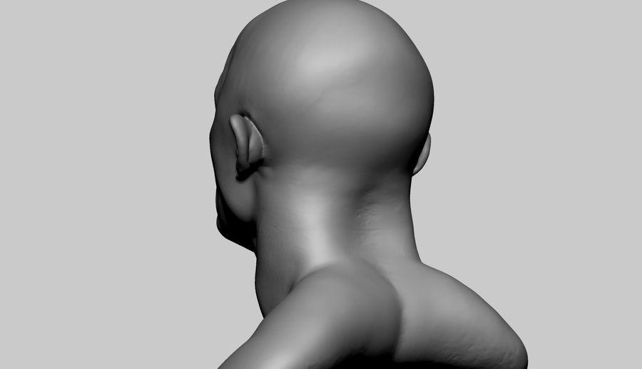 Fantasy Creature Head v5 royalty-free 3d model - Preview no. 4