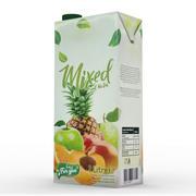 Blanda juicekartong 3d model