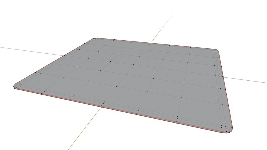 Low Poly Mousepad royalty-free 3d model - Preview no. 3