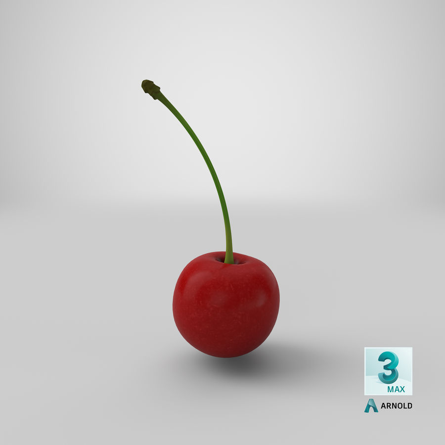 Cherry royalty-free 3d model - Preview no. 20