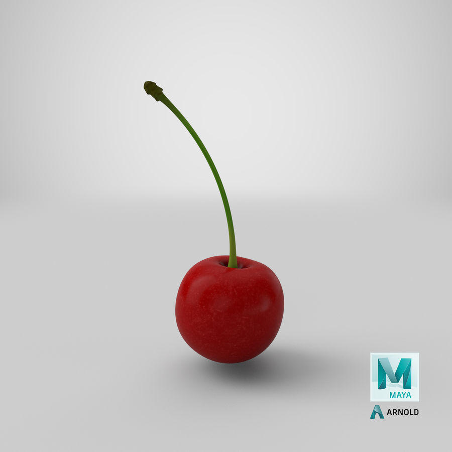 Cherry royalty-free 3d model - Preview no. 23