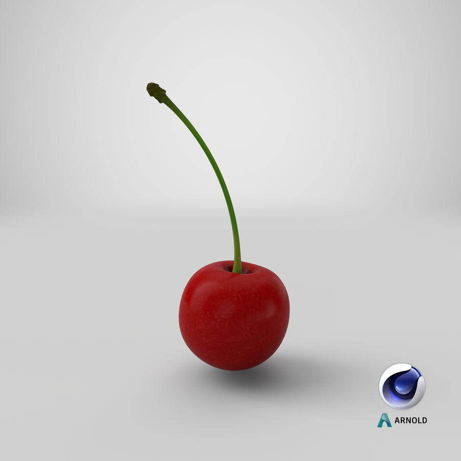 Cherry royalty-free 3d model - Preview no. 17