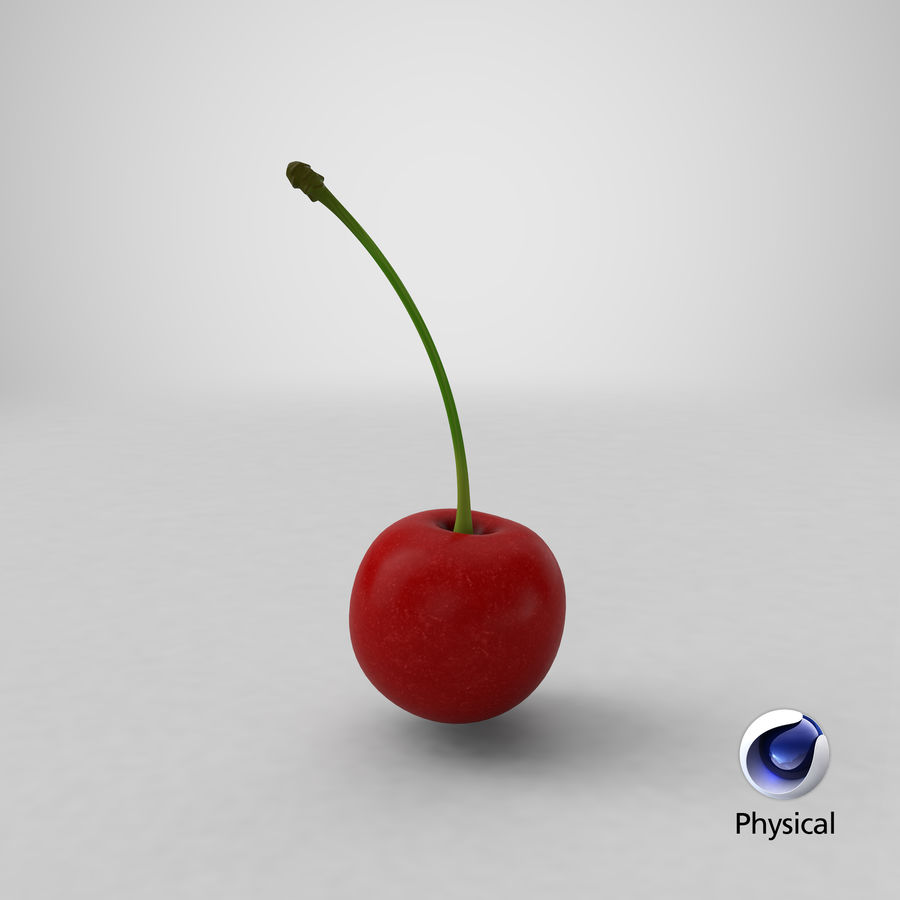 Cherry royalty-free 3d model - Preview no. 16