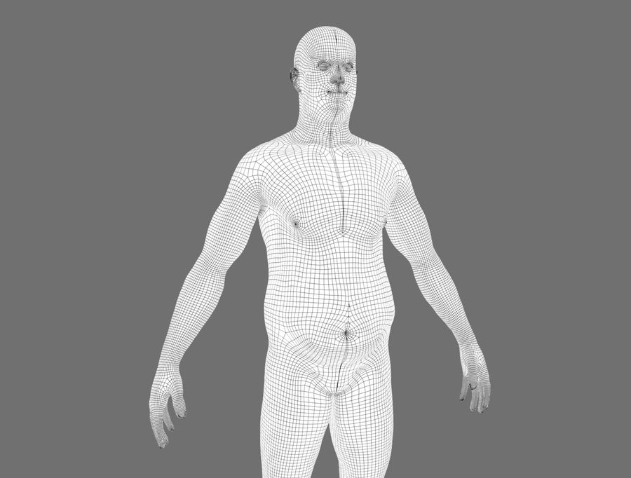 CHARACTER royalty-free 3d model - Preview no. 20